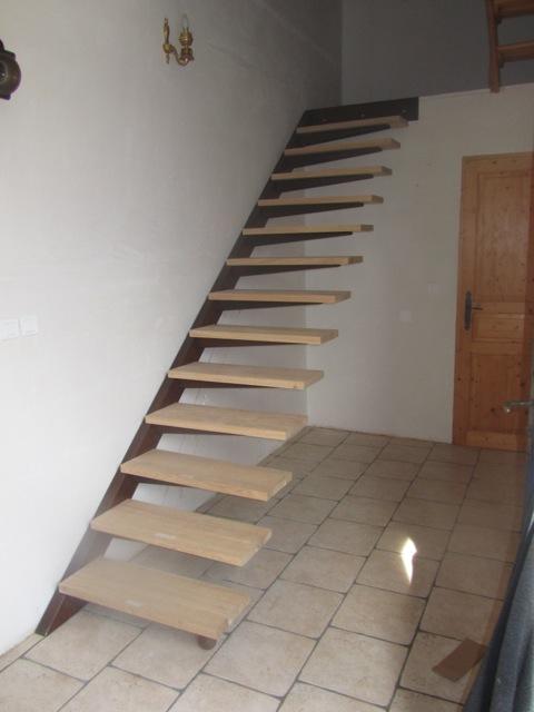 escalier fer & bois - michel daunizeau - serrurerie - ferronnerie d